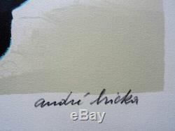 André Bricka Cyclades Lithographie Original Signed # 125ex