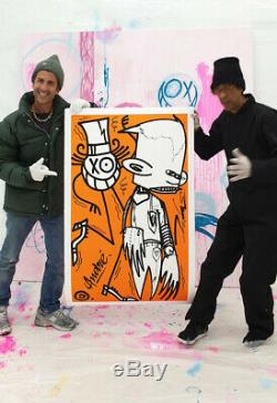 Andre Futura 2000 X 2018 Orange Chez Nous 60 Ex Limited Kaws Banksy