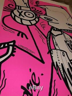 Andre Futura 2000 X 2018 Pink Chez Nous 60 Ex Limited Kaws Banksy Seth