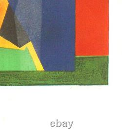 André Minaux 1923 1986 Litho Signed And Numbered