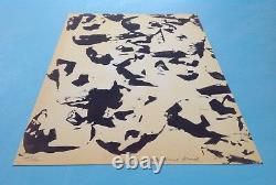 André-pierre Arnal (1939) 1968 Lithograph Signed School Of Nice Raysse Klein