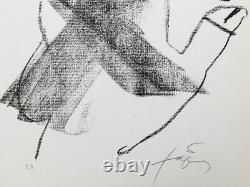 Antoni Tapies Untitled 1976 Original Lithograph Signed