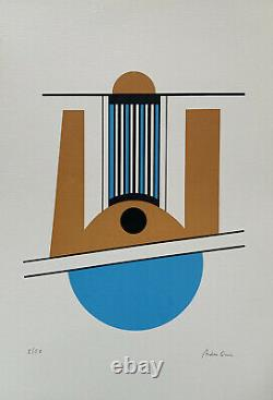 Arden Quin, Signed Main, Litho 5/50, 38x56cm, Print In Good Condition