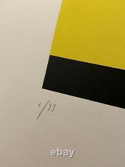 Aurélie Nemours Signed Litho 6/99 56x38cm Good State