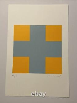 Aurélie Nemours, Signed Main, Litho 38/99, 38.5x56cm, Print In Good Condition