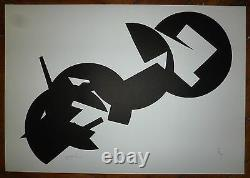 Bally Theodore Lithography 1964 Signed Numbered Abstract Art Abstraction
