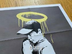 Banksy Don't Panic Forgive Us Our Trespassing Poster Street Art Print
