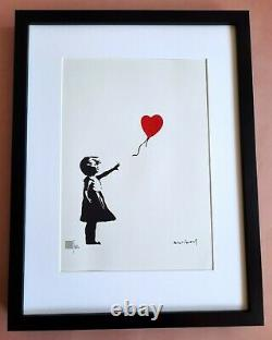 Banksy Lithography Signed Numbered /150 + Frame Inclusive Not Shepard Original