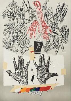 Beautiful Original Lithography Vladimir Velickovic