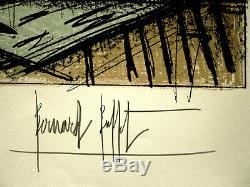 Bernard Buffet Lithograph Signed Ladies 1970 Games In Hand