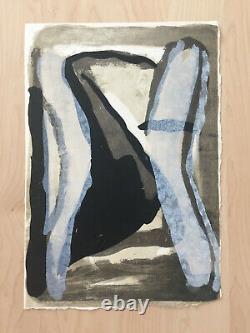Bram Van Velde / Hand Signed Lithograph 1976