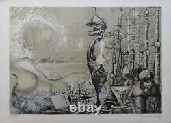 Brissaud Patrick Fantastic Nude Lithography Original Signed #175ex