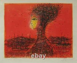 Carzou Jean Lithography Signed Au Crayon Handsigned Lithograph Armenia Salome