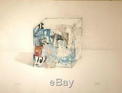 Cesar Baldaccini Original Lithograph No. Combas Bin Arman Dirosa Speedy Nice