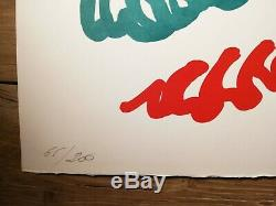 Charles Lapicque (1898-1988) Print Original Lithography Boat Regatta 1961