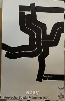 Chillida Eduardo Poster Lithographic Abstract Art Abstraction Sculptor