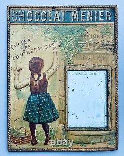 Chocolat Menier Lithographed Sheet 1900 By Firmin Bouisset