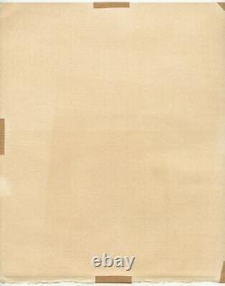 Christoforou John Lithography 1969 Signed Pencil Num/150 Handsigned Lithograph