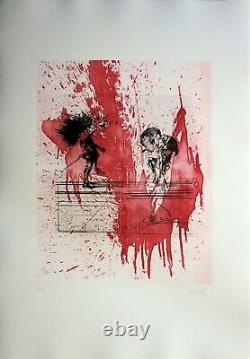 Dado (miodrag Djuric Says) Blood Feast Original Signed /99 Ex