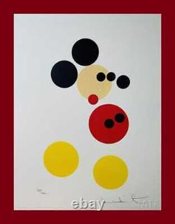 Damien Hirst Mickey Mouse. Beautiful Original Lithograph