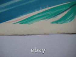 Debré Olivier Lithography Signed At Pencil Num/200 Handsigned Lithograph