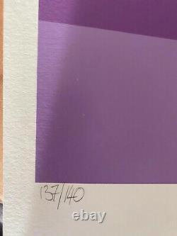 Dface- Original Screenprint Signed And Numbered Careless Whisper (purple)