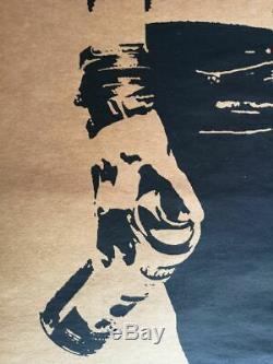 Eddie Colla Silkscreen Signed 90x60cm / Dran / Jef Aerosol / Ludo / Blek Rats / Banksy