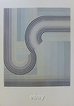 Eusebio Sempere Se, Signed Lithograph, 1974