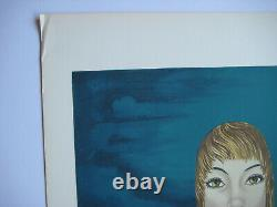 Felix Labisse Lithography Signed In Pencil Num/150 Handsigned Numb Lithograph