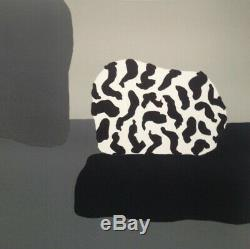 Fernand Dubuis (1908-1991) Rare Lithograph Original Abstraction Signed (2)