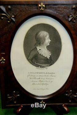 Frame Engraving From Louis XVII 18 Eme
