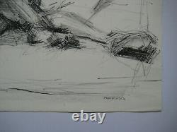 Fromanger Gerard Lithography Nu Signed At Crayon Ea Handsigned Ea Lithograph