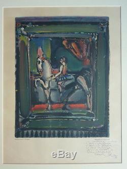Georges Rouault (1871-1958) Lithography The Ecuyère Mourlot (v)