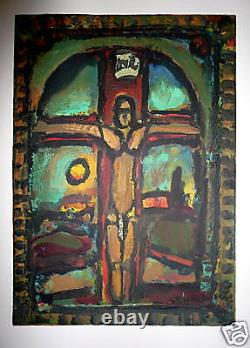 Georges Rouault Lithography And Imprint On Velin Expressionism Fauvisme