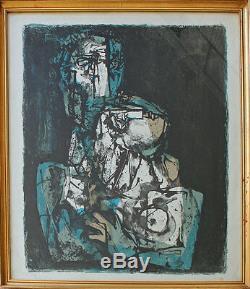 Georgi Daskaloff (1923-2005) Lithograph Bottom Left