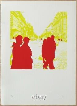 Gérard Fromanger (born 1939) Title Boulevard Des Italians