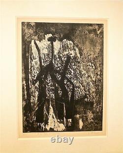 Germaine Richier Litho Original Sculptor Marino Marini USA Paris