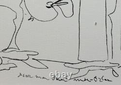 Grande Lithography By Pablo Picasso Painter And Model, Regards Sur Paris