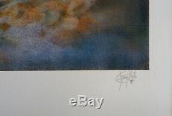 Guy Ribes Nude Original Lithograph Signed