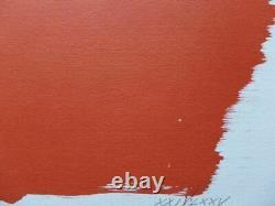 Hans Hartung Farandole 10, 1971, Original Signed Lithography