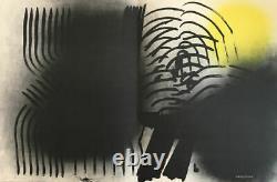 Hans Hartung Farandole, 1971, Original Signed Lithography