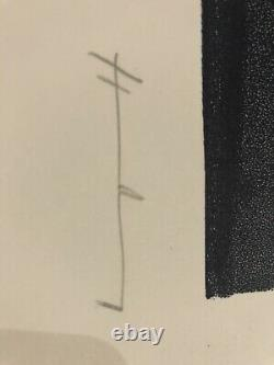 Hans Hartung Grande Lithography Numbered And Signed To The Hand