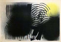 Hans Hartung Original Lithography L. 1970-2 Original Litho Print 1970