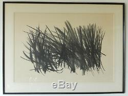 Hartung Hans Lithography Signed Numbered 171/200 Performed In 1963 101x76 CM