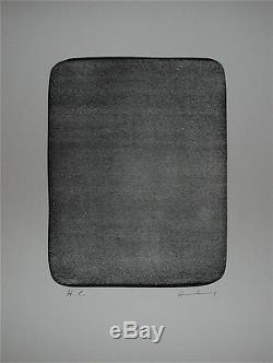 Hartung Hans Original Lithograph 1976 Abstract Art Lyrical Abstraction