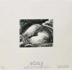 Hervé DI Rosa Ass Magazine Original Lithography Signed 1992