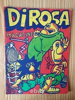 Hervé DI Rosa Magazine No.1, 2, 3 Plus A Car Cutout In Raphael