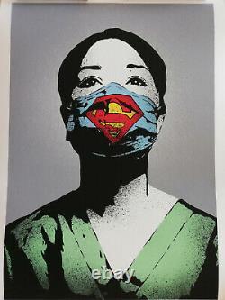 I Am Fake Super Nurse Hand Edition (shepard Fairey, Vhils, C215)