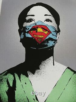 I Am Fake Super Nurse (shepard Fairey, Vhils, C215)