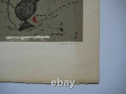 James Coignard Lithography Signed Au Crayon Num/75 Handsigned Numb Lithograph